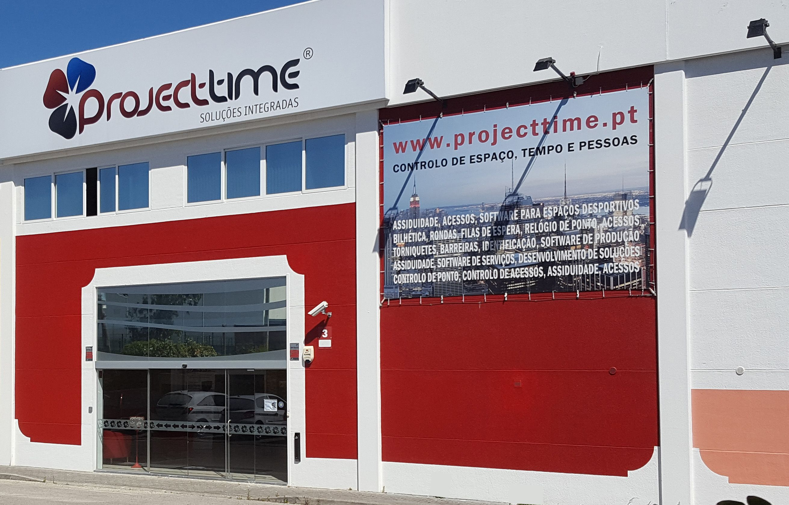 Portugal - Zona Sul Projecttime - Distribuição de Equipamentos Eletrónicos Lda. Contribuinte nº 506882918 e Sede em Abrunheira – Sintra