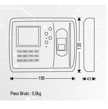 desenho_tecnico_terminal_probio_controlo_acessos_assiduidade